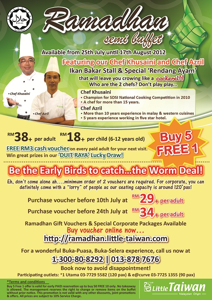 Buffet Ramadhan - Little Taiwan